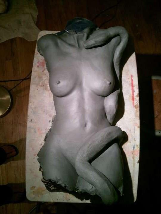 Eve Nude Figure