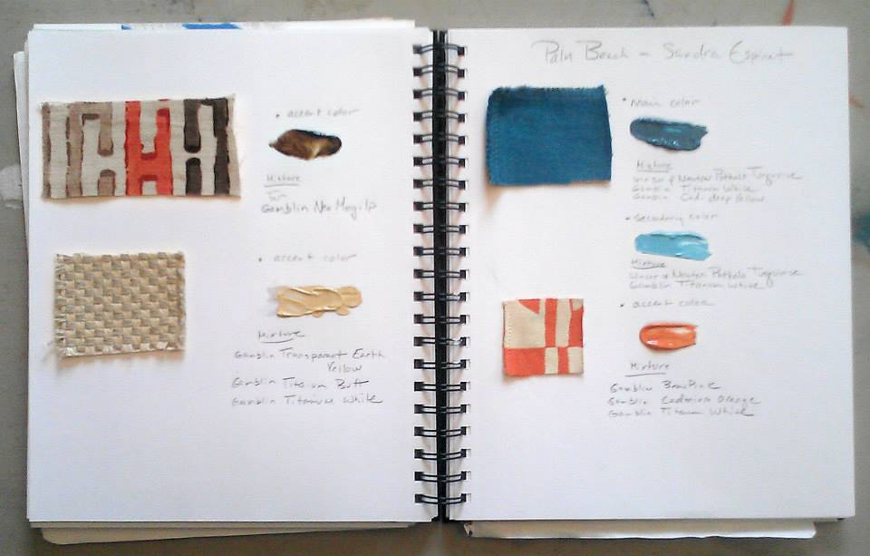 Sketchbook designs for SE Design Services Palm Beach project created by Velvet Marshall.  copyright © 2014 Velvet Marshall all rights reserved