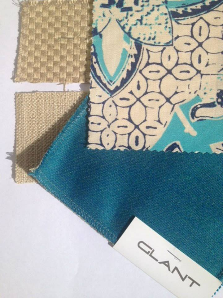 Sample swatch for Palm Beach color palette.