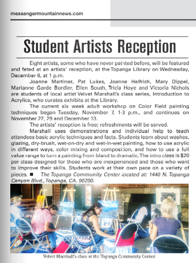 Students exhibit 2017 Mountain News.png