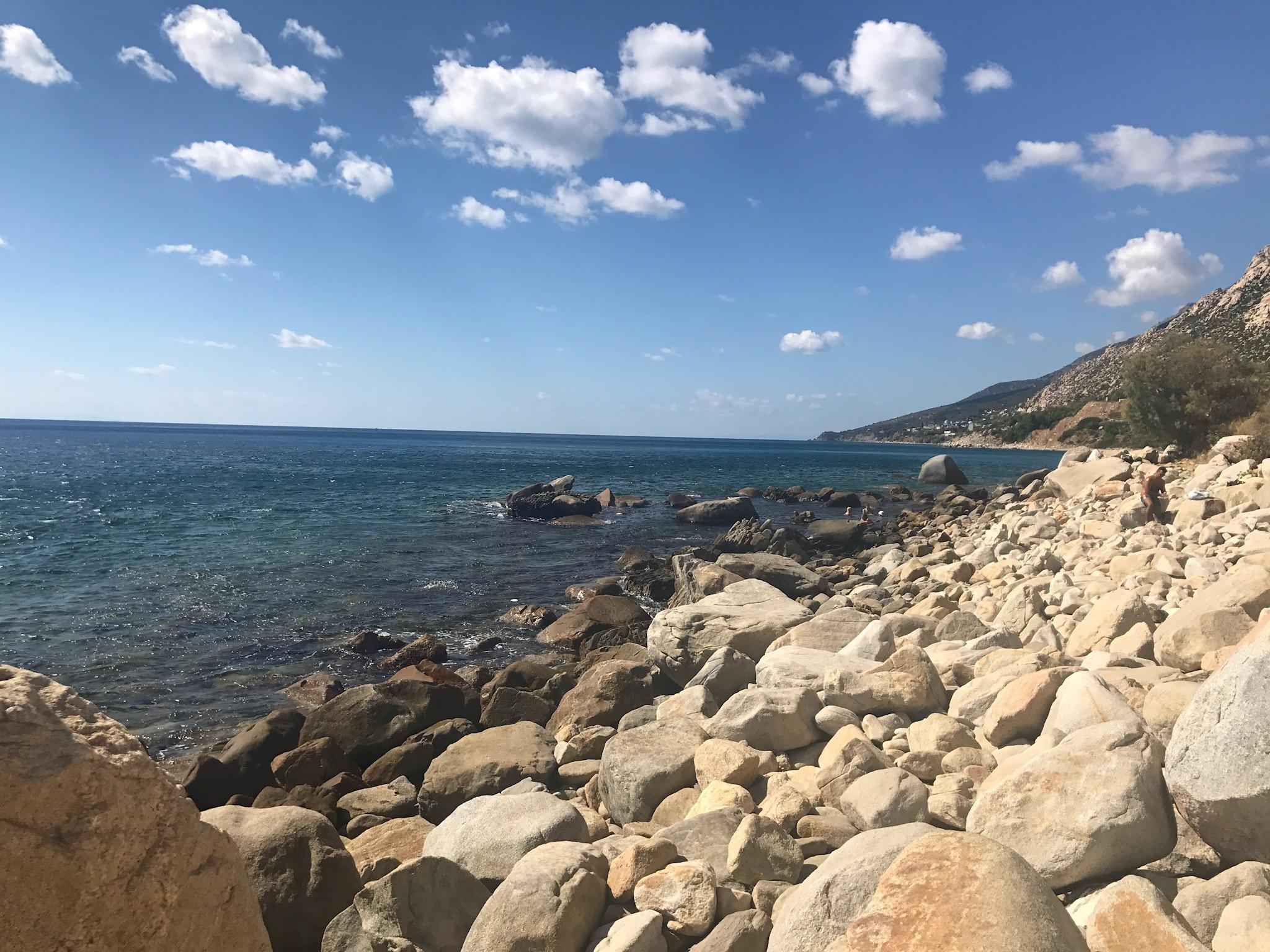 Lefkada thermal spring by the sea   Credit: Talita Bateman