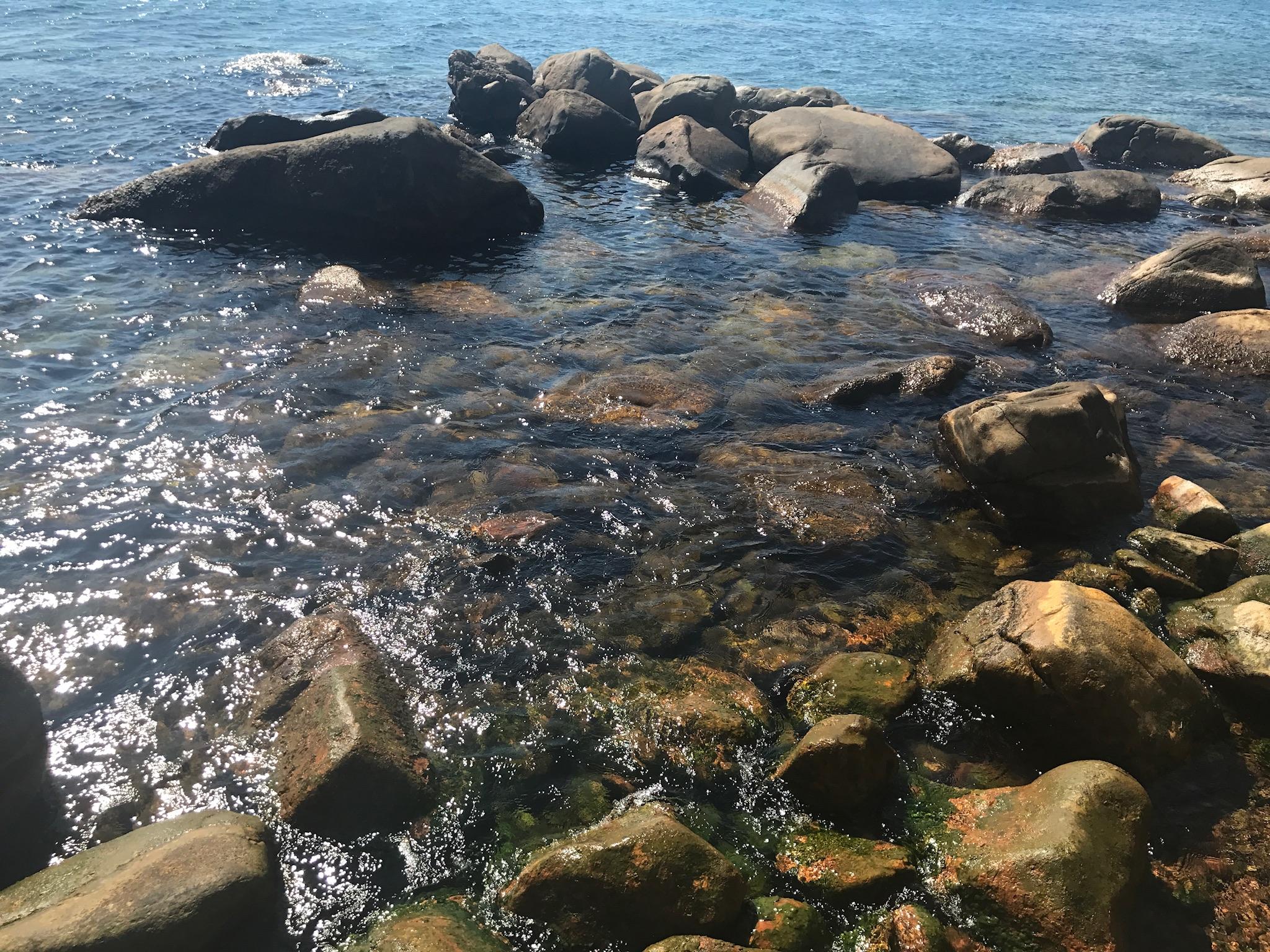 Lefkada thermal hot spring by the sea   Credit: Talita Bateman