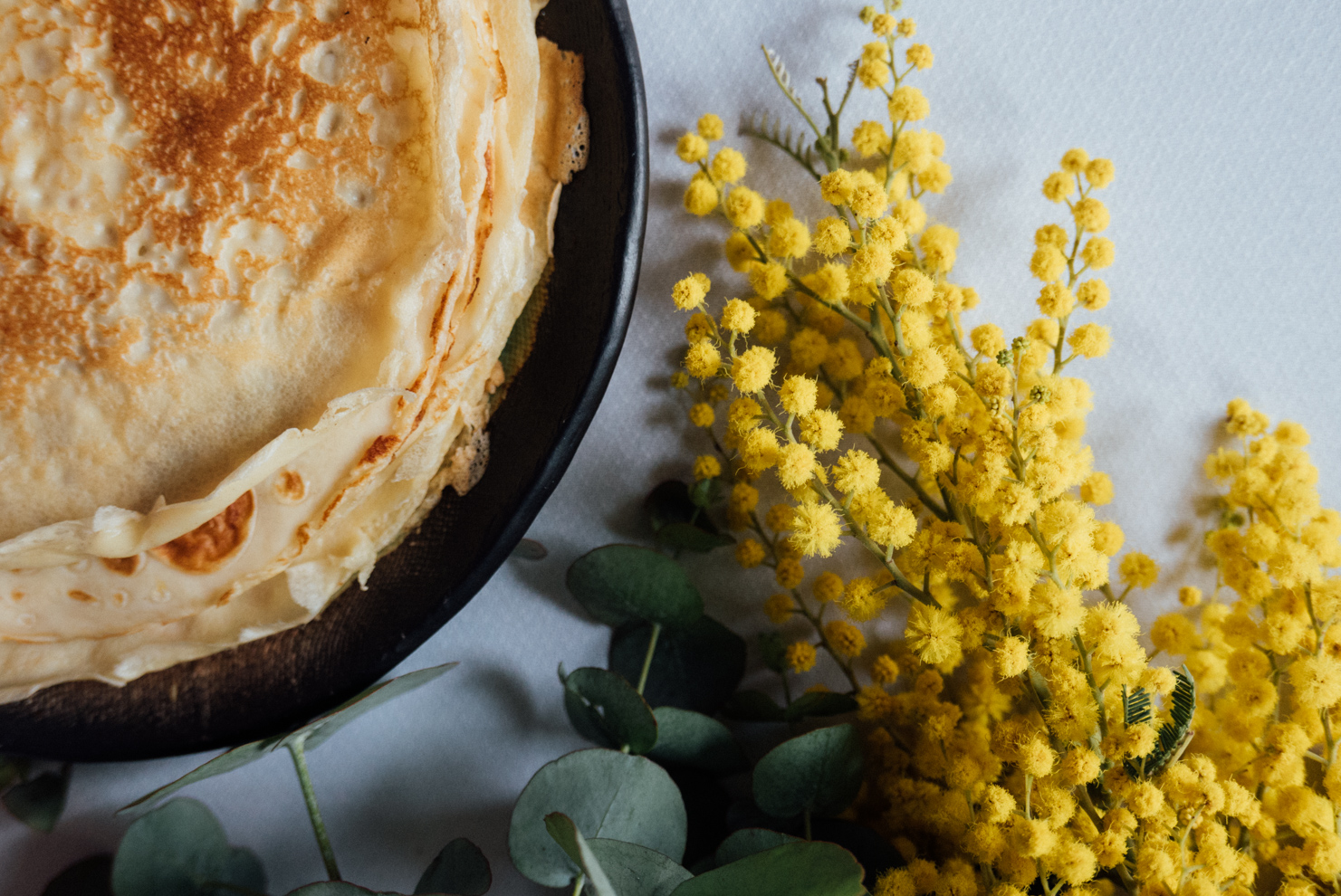 Traditional Asturian frixuelos / Foods from Asturias 01