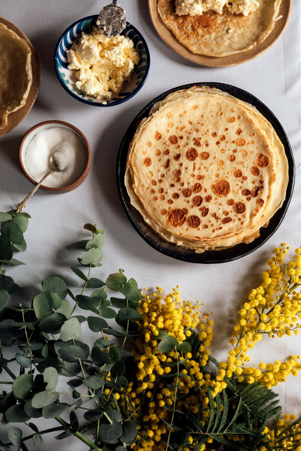 Traditional Asturian frixuelos / Foods from Asturias 04