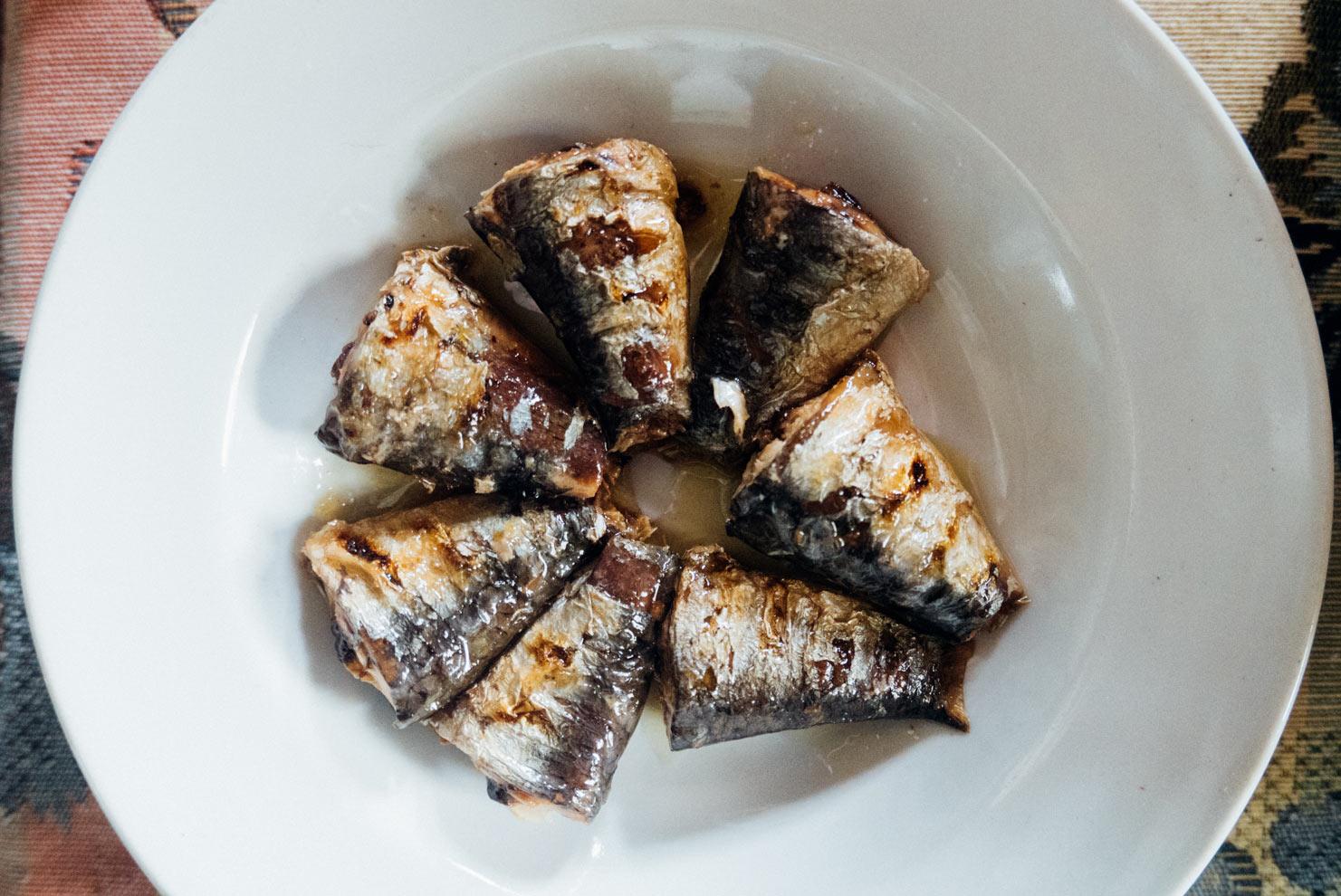 Güeyu Mar sardines