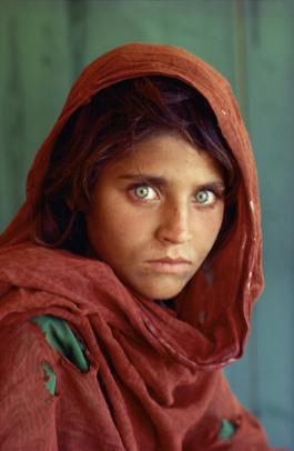Figure 3: Afghan Girl (Steve McCurry, 1984)