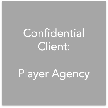 <strong>Player Agency<span>Strategy & Communications</span></strong>