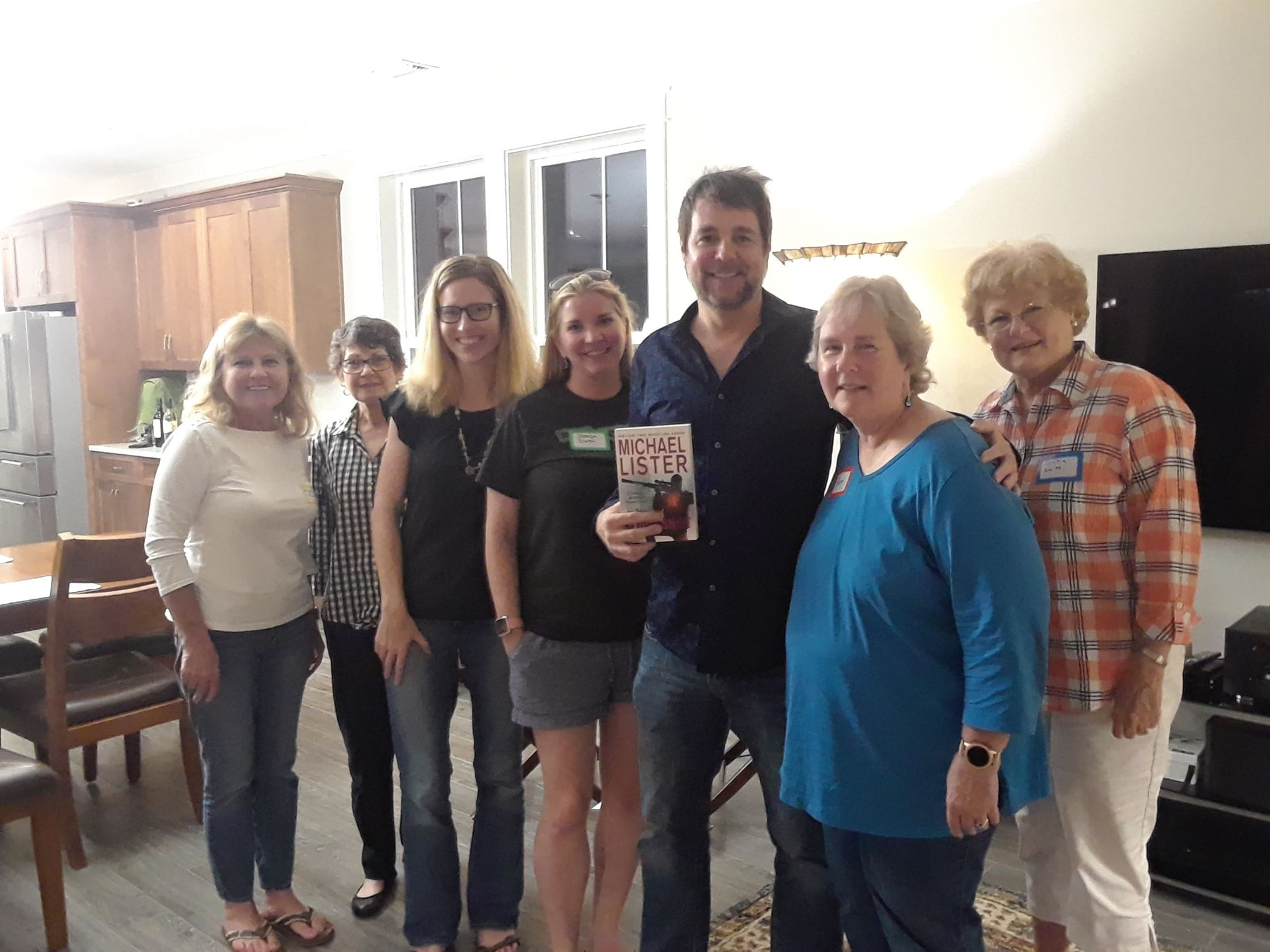Speaking to a book club in Panama City, FL.
