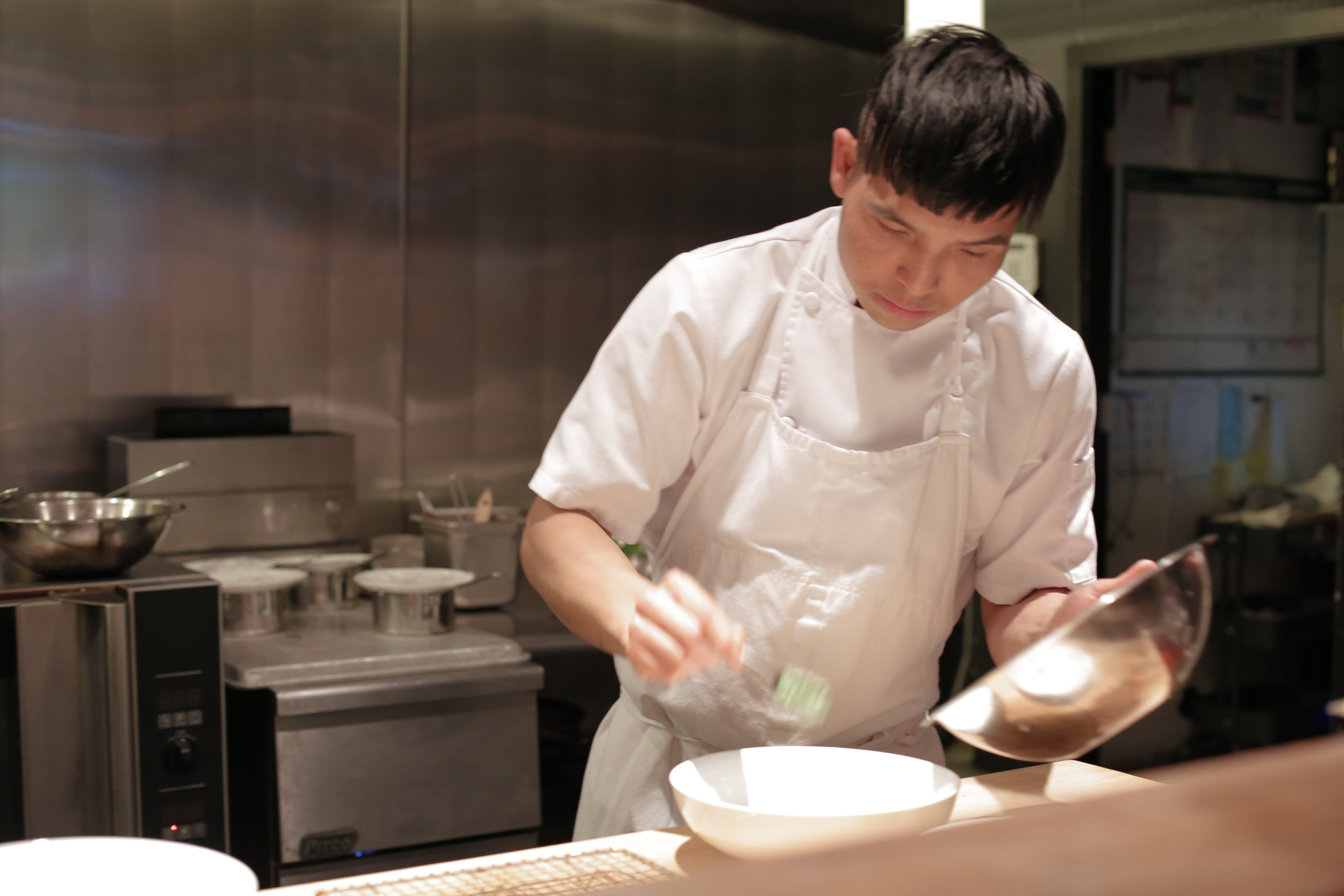 The extremely gifted Vince Nguyen, our chef.