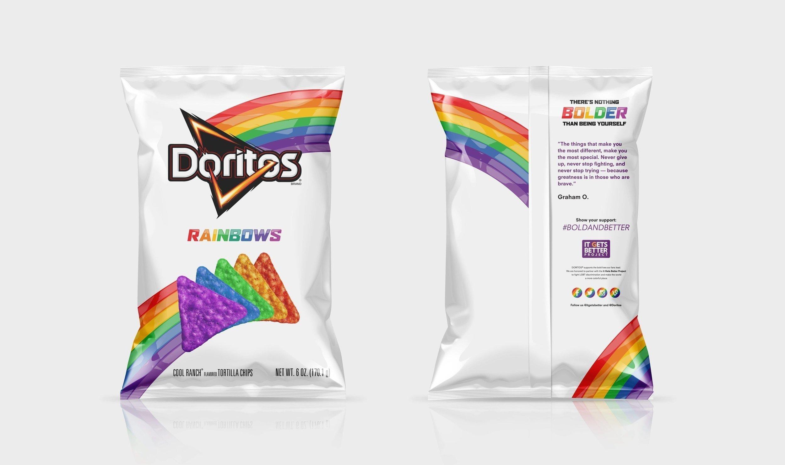 Doritos Rainbows Bag