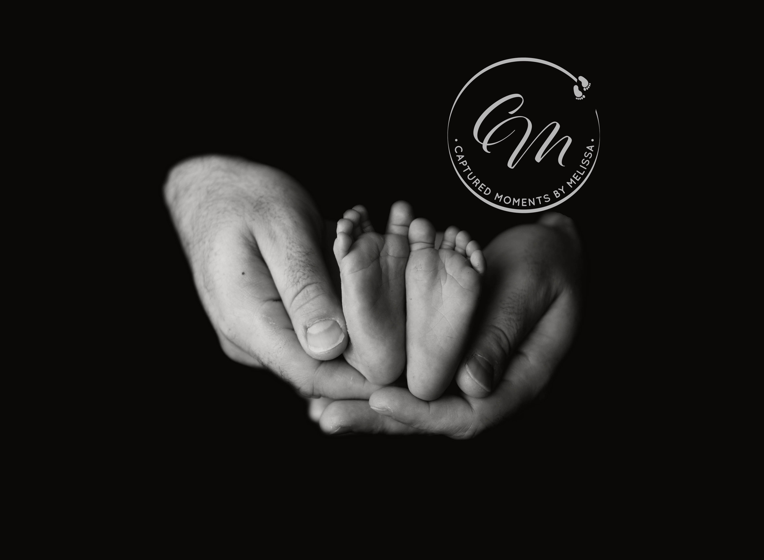 Newborn Baby Feet | Newborn Photographer Kansas City Missouri