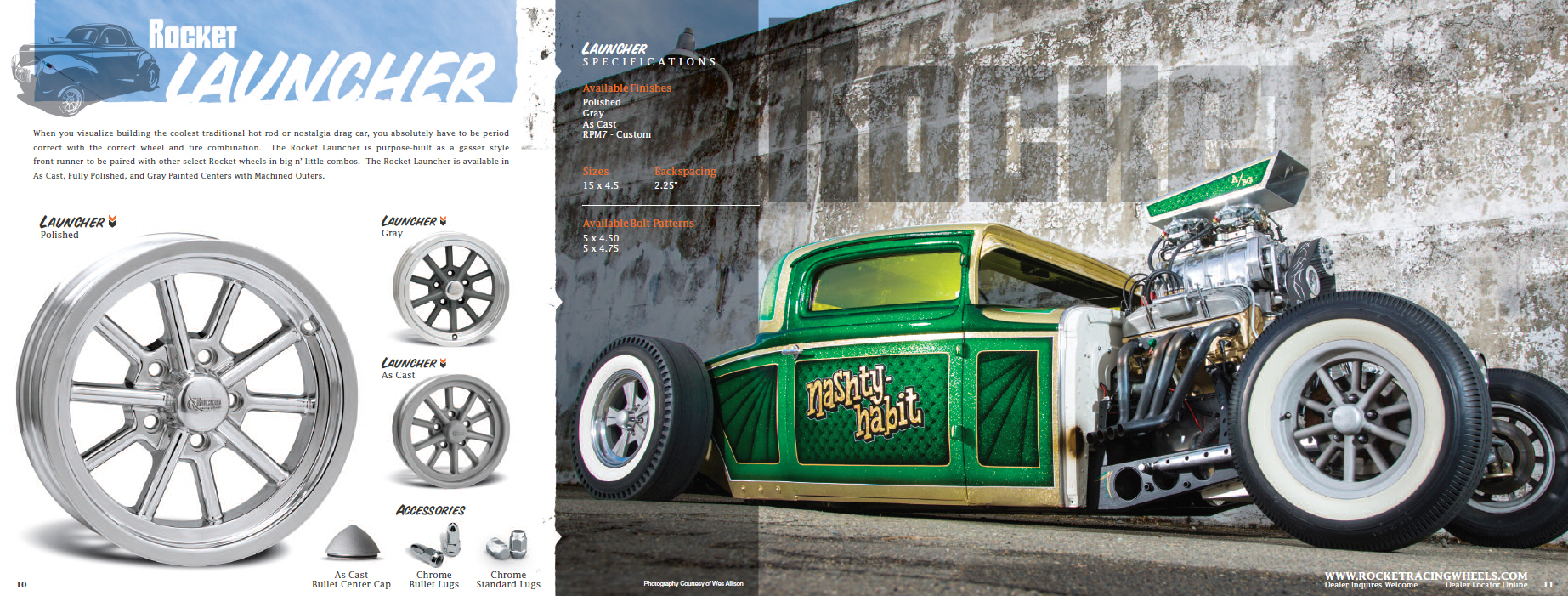 Rocket Racing Wheels Catalog