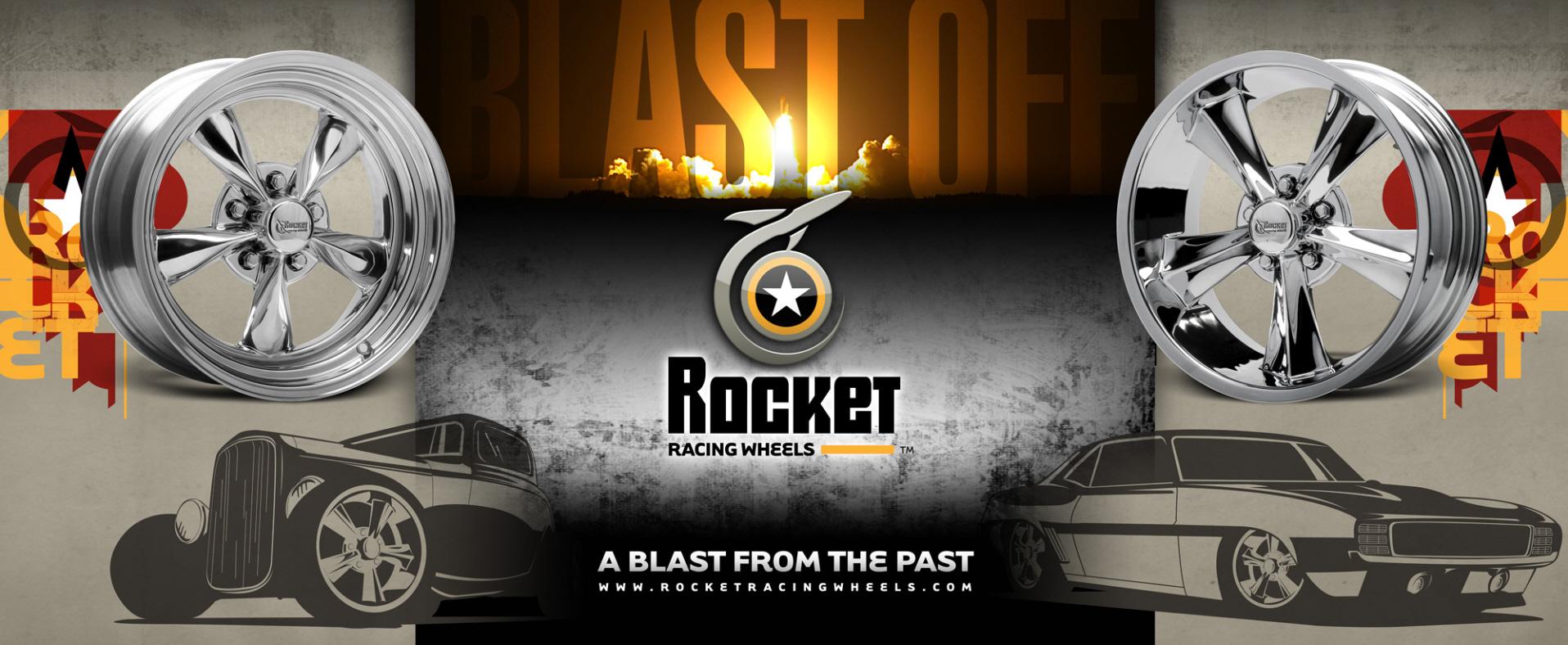 Rocket Racing Wheels tradeshow display