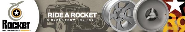 Rocket Racing Wheels digital web banner