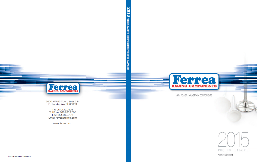 Ferrea Racing Components Catalog
