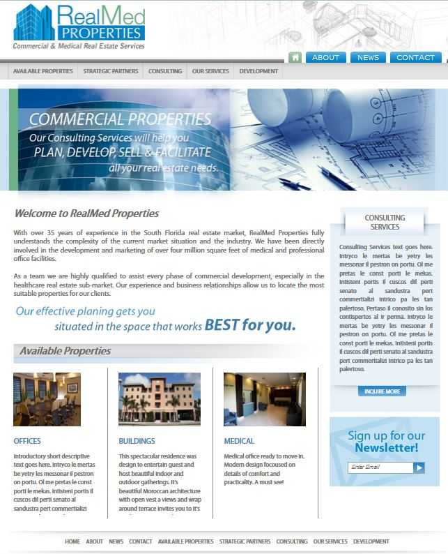 RealMed-properties-home-page