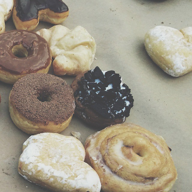 You could use your free time to go get donuts.