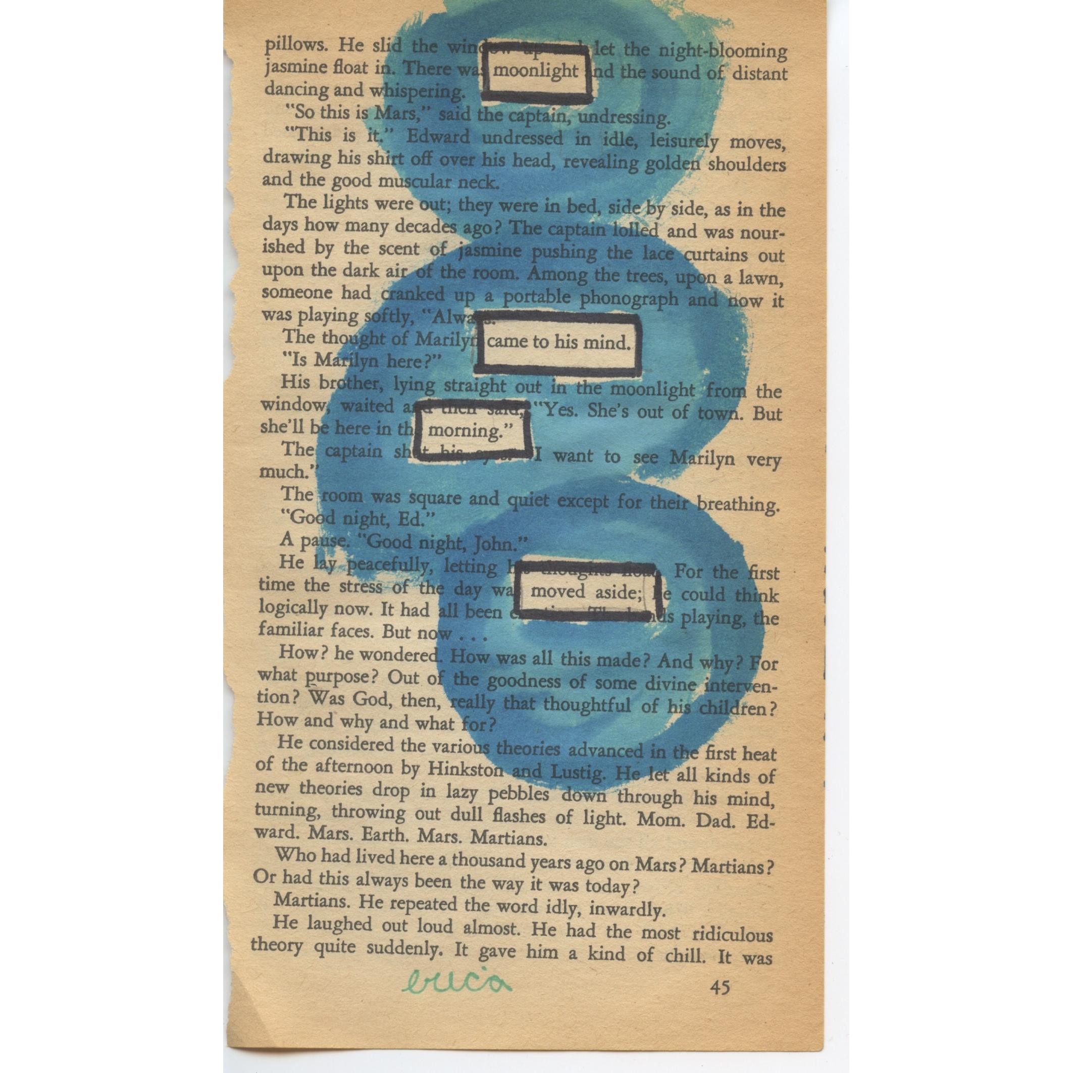 Erica Gerald Mason Found Poetry