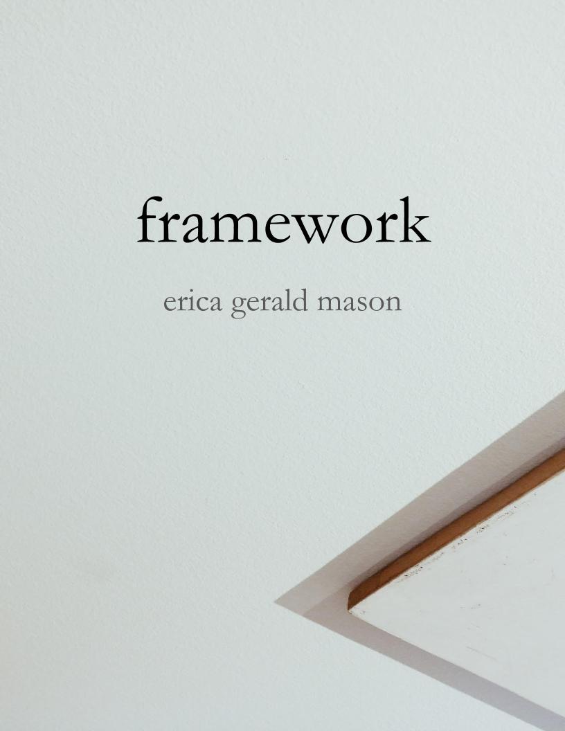 framework book cover