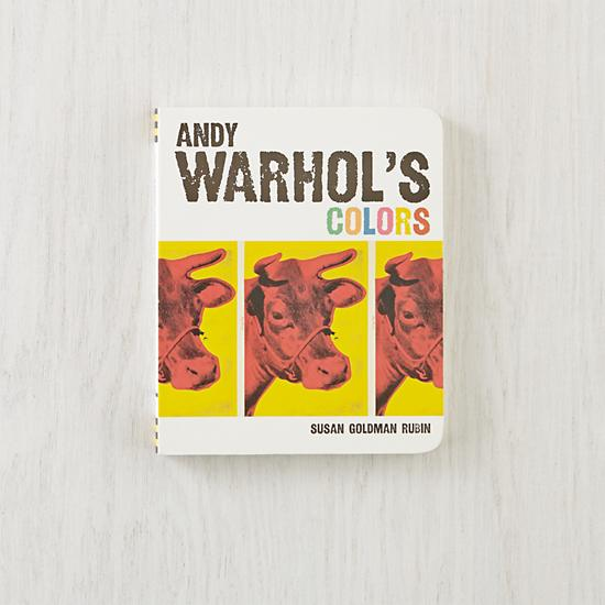 andy warhols colors book