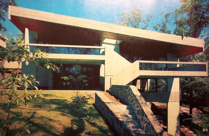 retro future house