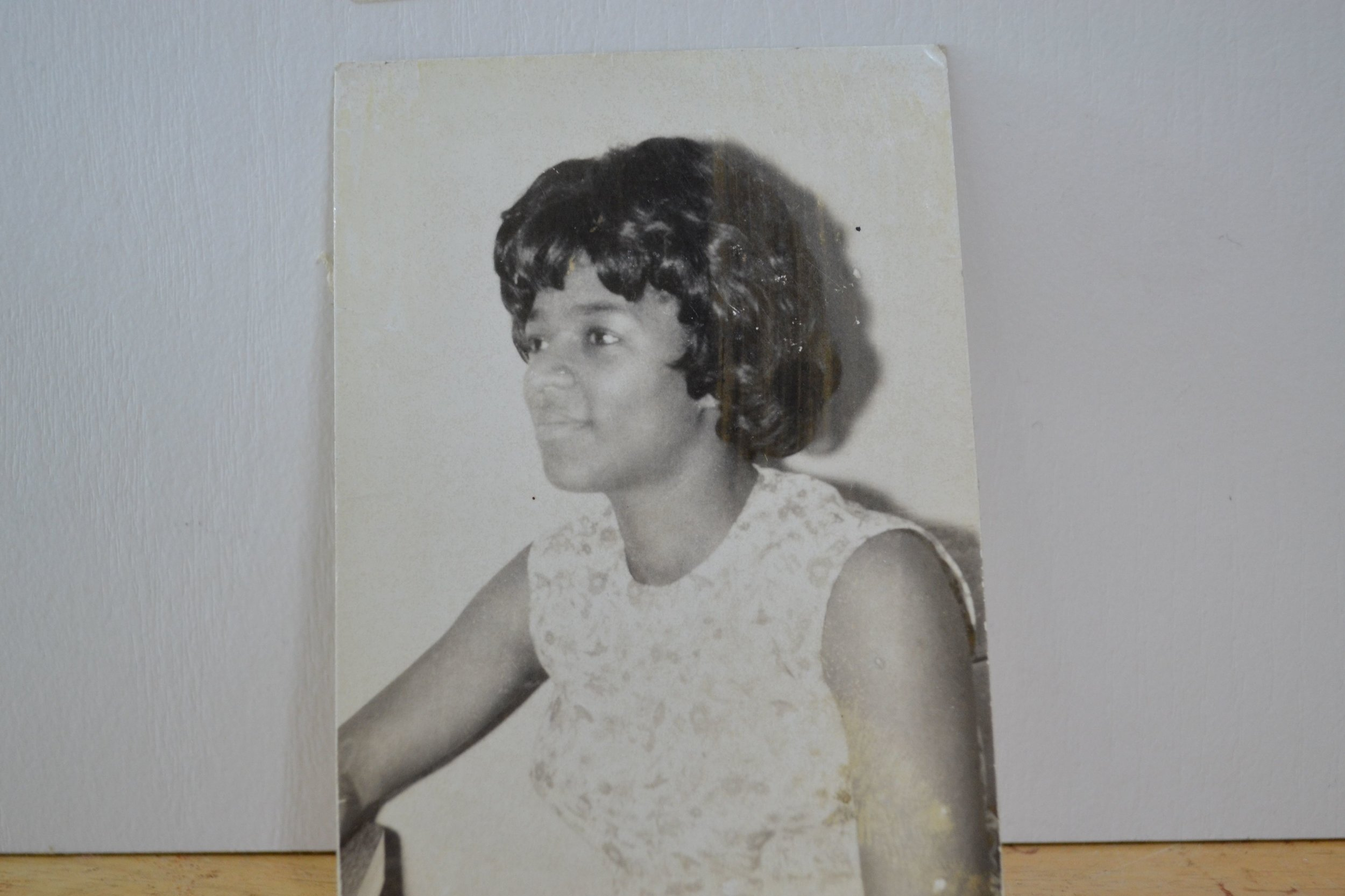 My mom, in the 60s.