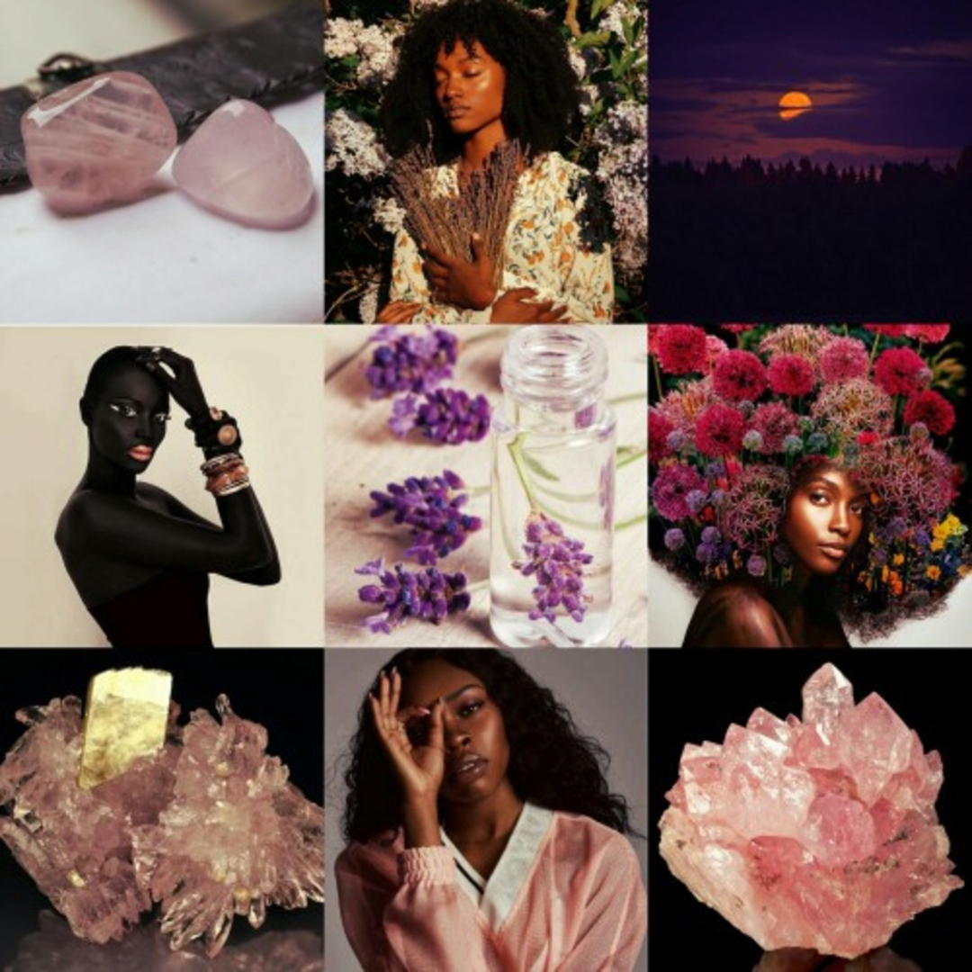 A pin from the Witch Cast mood board on Pinterest.