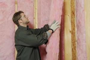 batt insulation installation