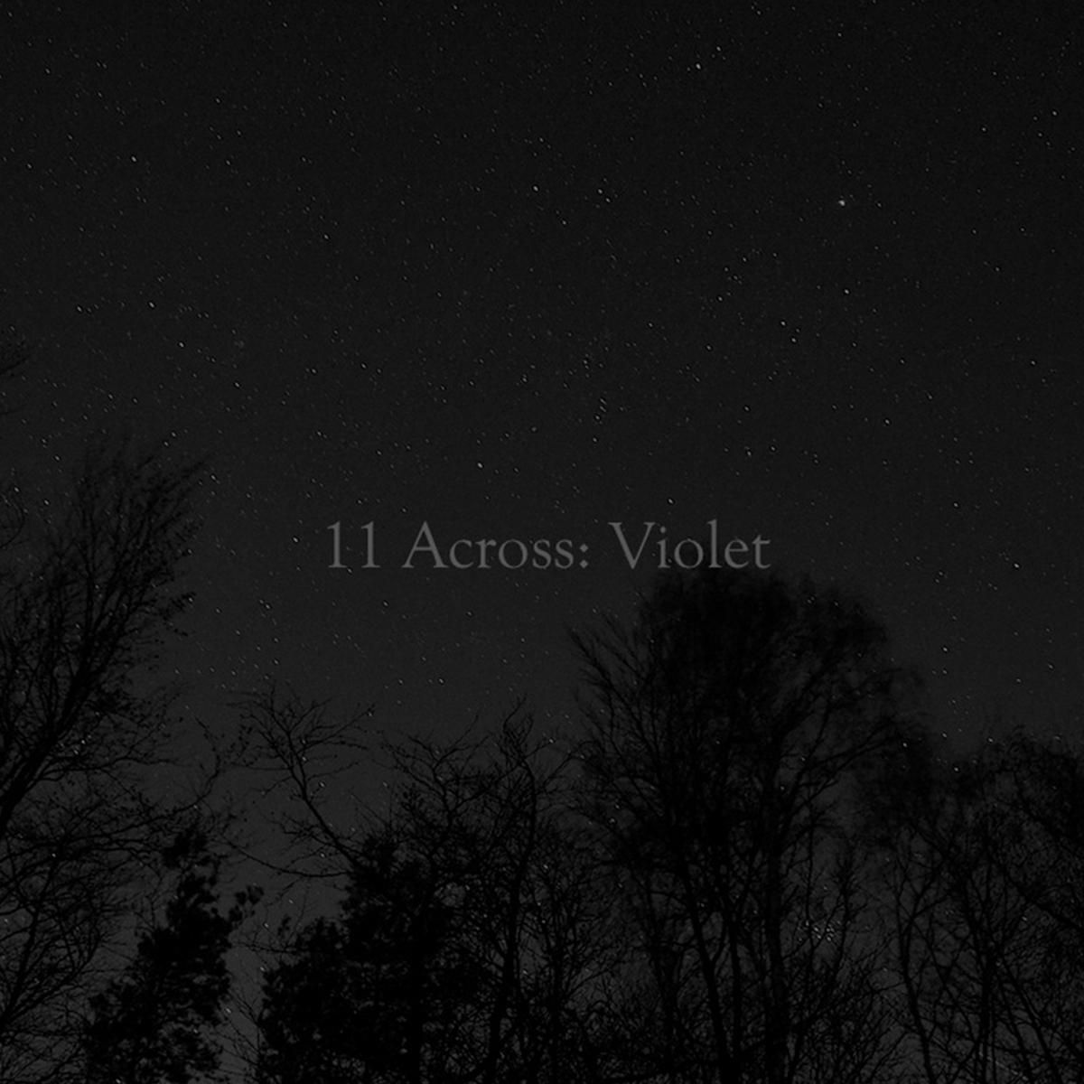 11 Across Violet
