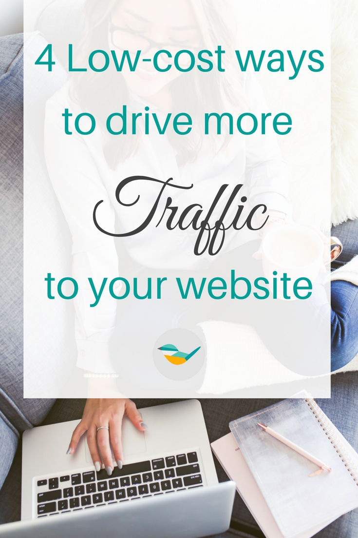 4 low cost ways to drive more traffic to your website