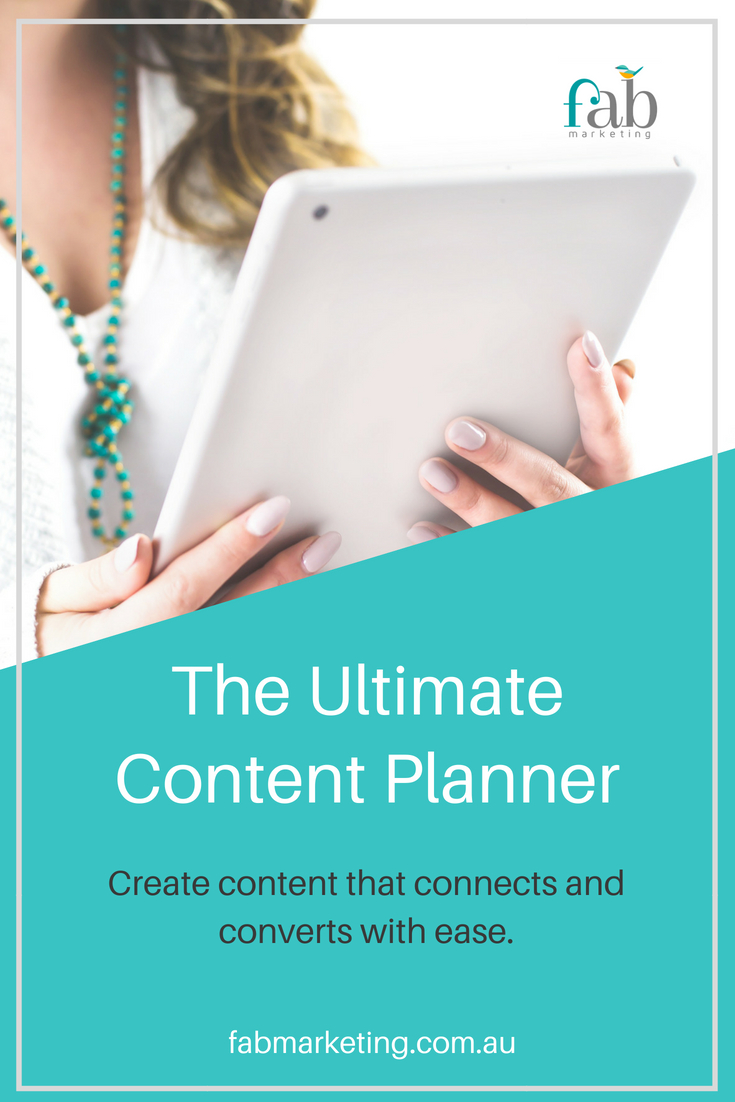 The Ultimate Content Planner