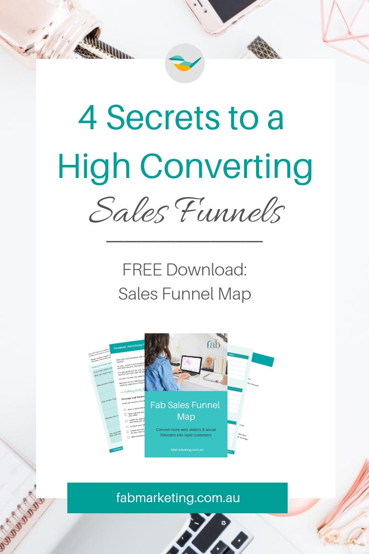 4 Secrets to a High Converting Sales Funnel