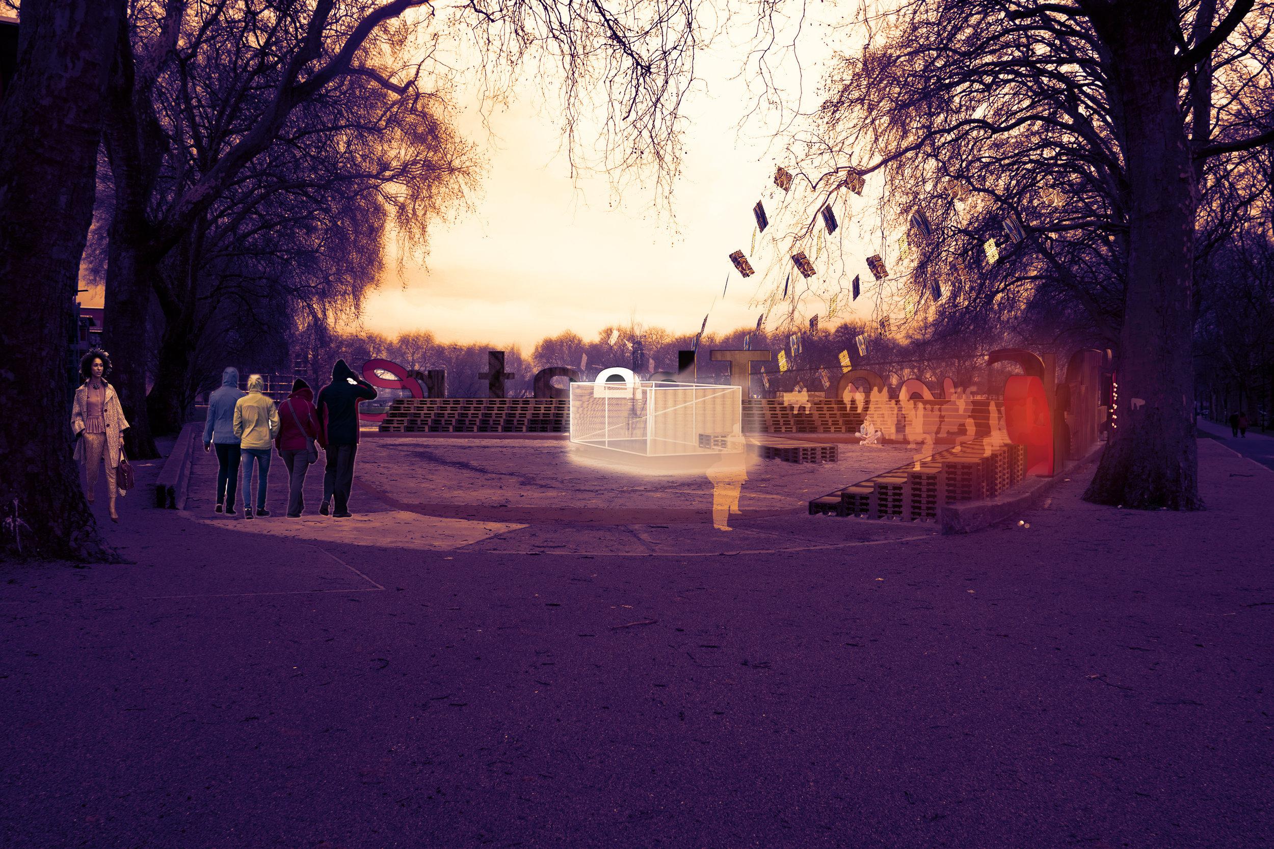 Cine - Theatre Concept Image - Evening