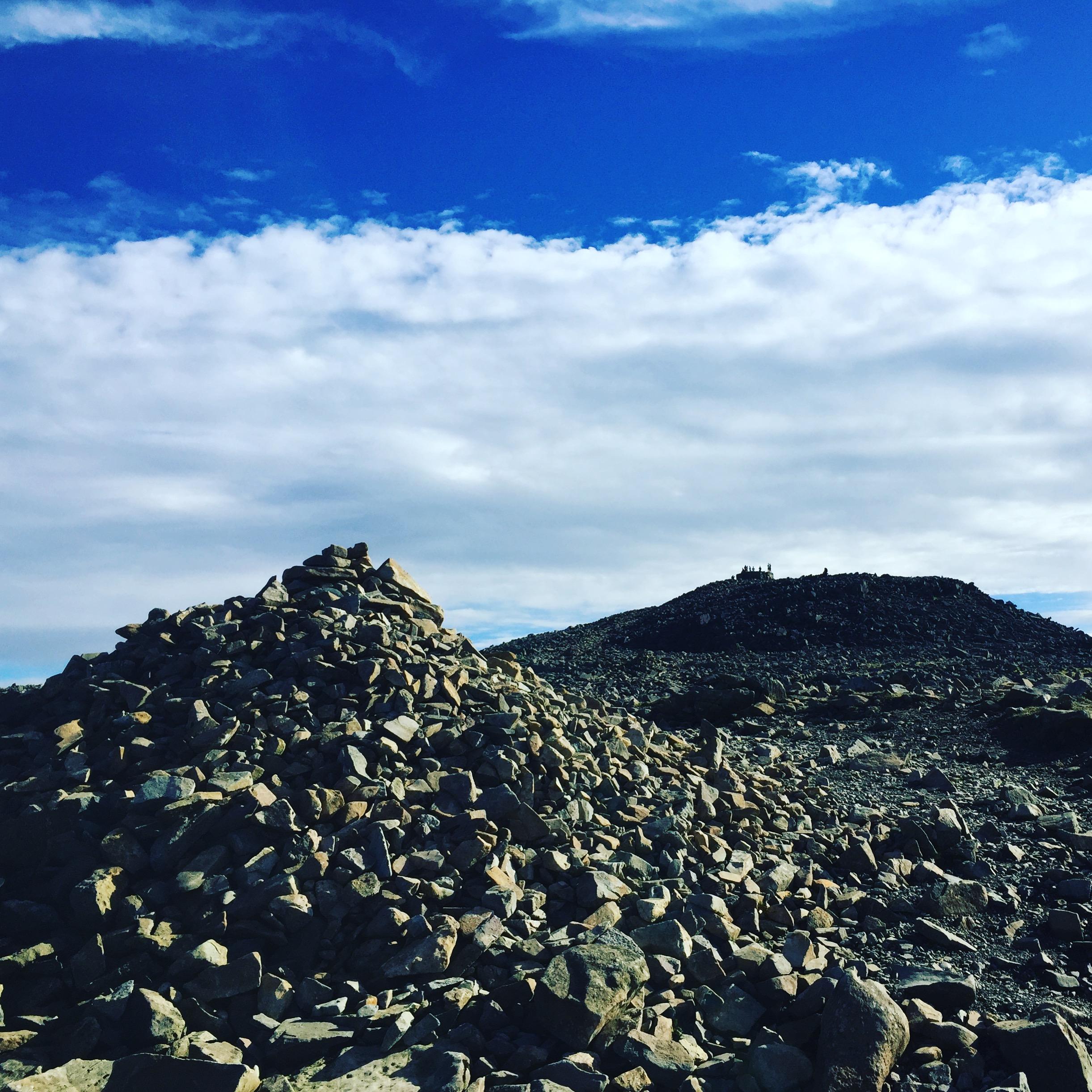 Scafell Pike plateau