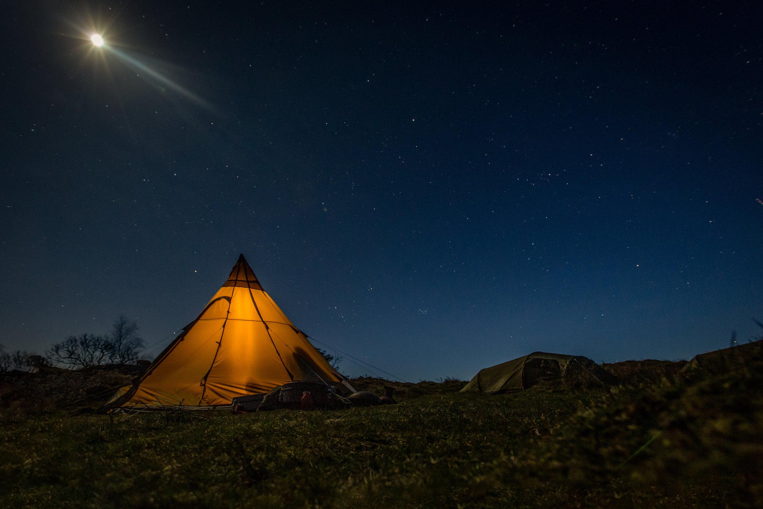 Stargazing under dark skies