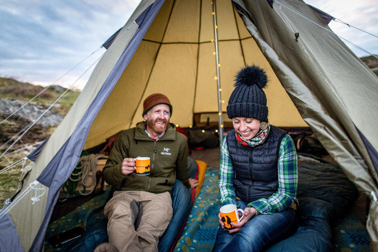 Award-winning    Robens    technical tents, mattresses and sleeping bags