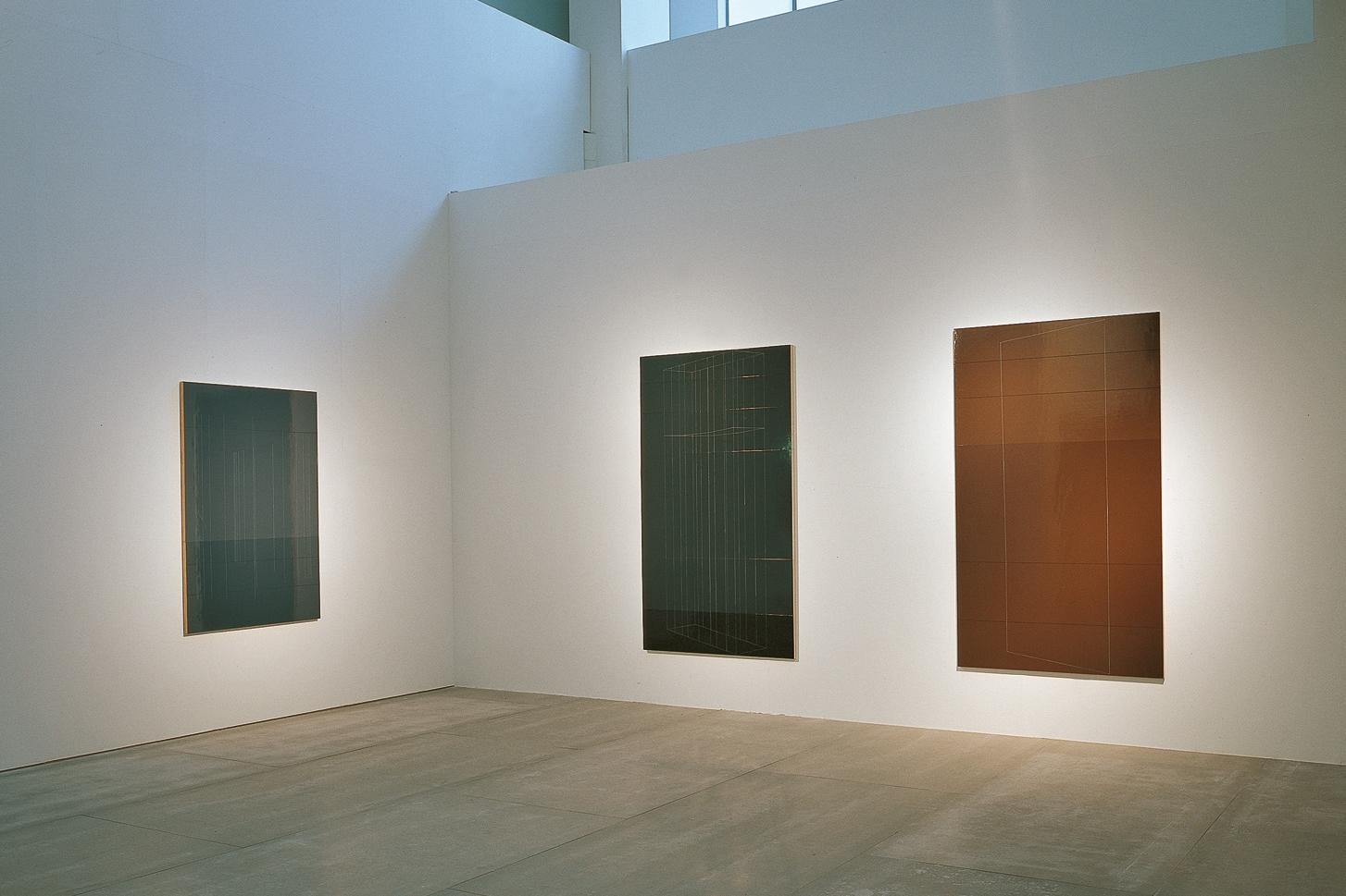 """Installation view,""""Espacio Interior / Inner Space"""", Sala Alcala 31 de la Comunidad de Madrid, Madrid, Spain"""