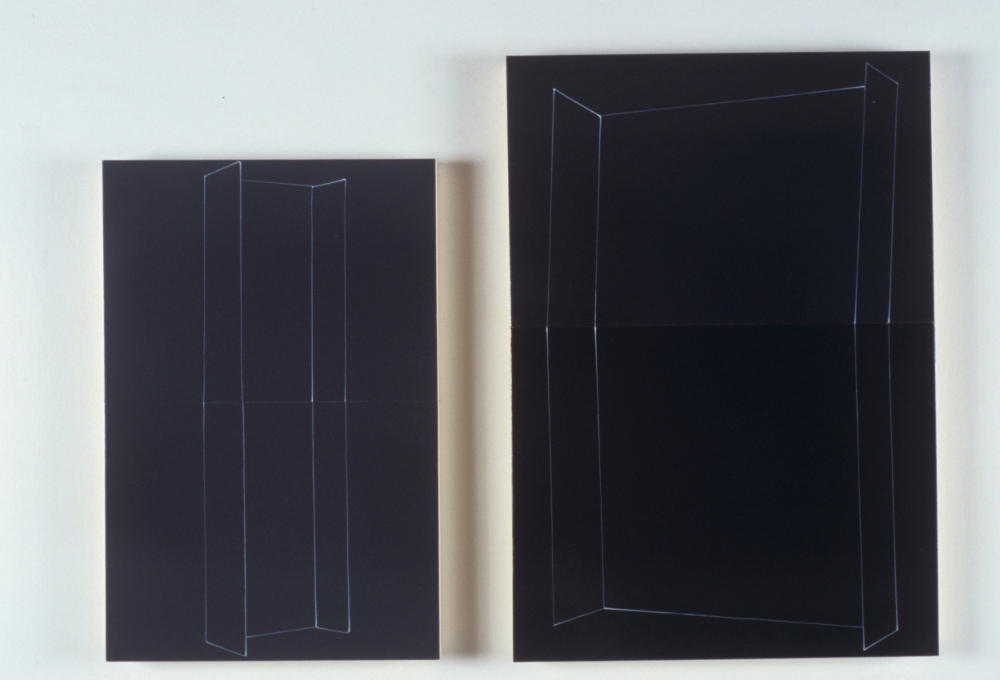 Blackboard pair  , courteous postures,18 x 12 inches