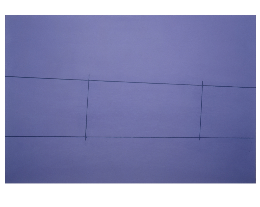 Fence, Purple 2 Posts