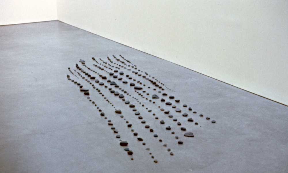 "Installation View, ""Trace"", curated by Ian Berry, Bard Center for Curatorial Studies, Bard College, Annandale-on-Hudson, New York"