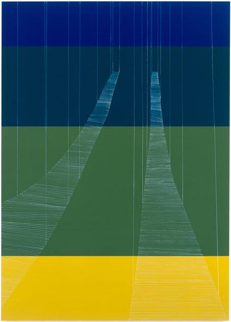 Suspended Summer Bridges Yellow Meeting Blue