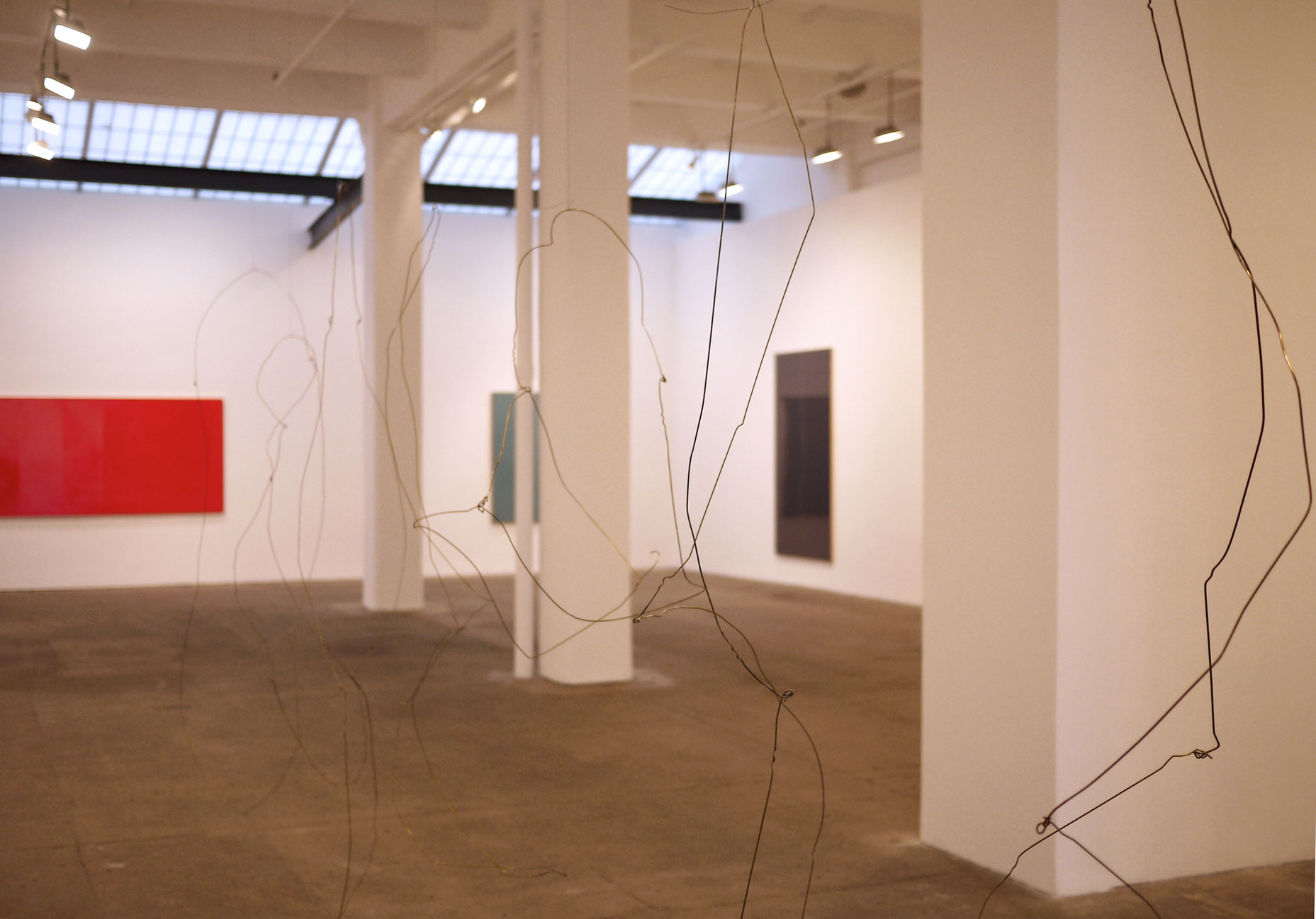 "Installation view, ""And Debris"", Galerie Lelong, New York, New York"