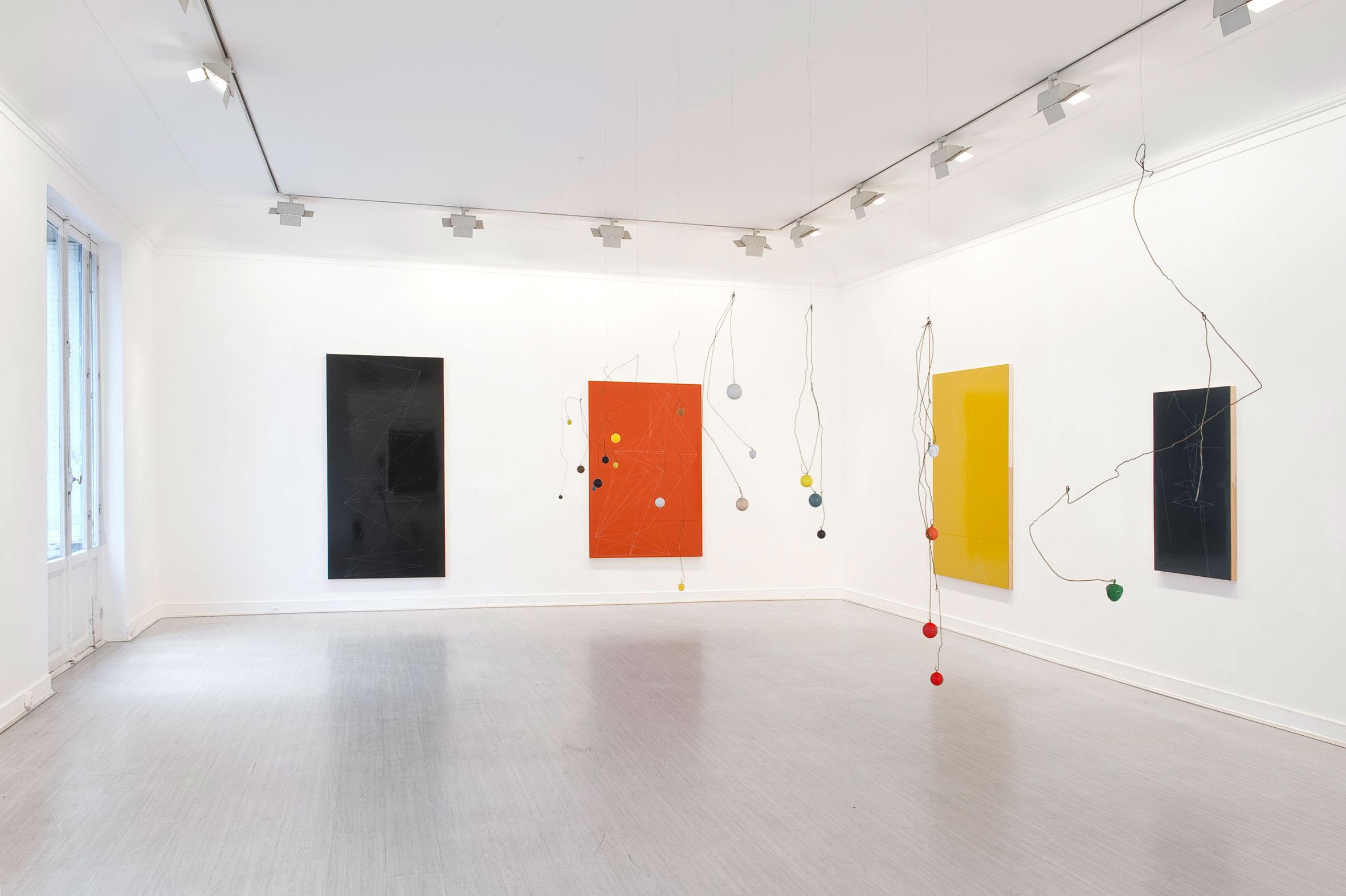 "Installation view,""Sculpture Painting"", Galerie Lelong, Paris, France"