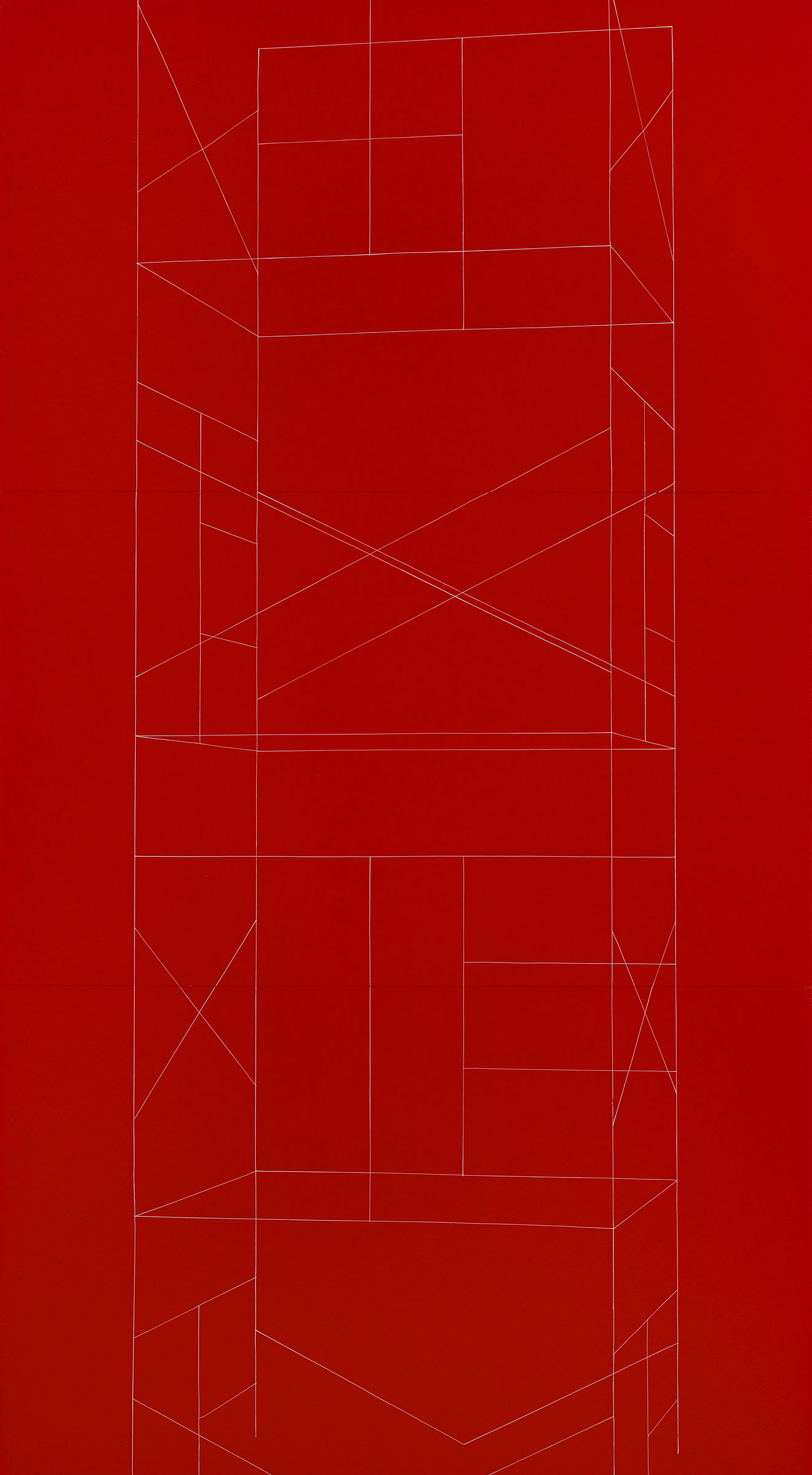 New Work Red Scaffold