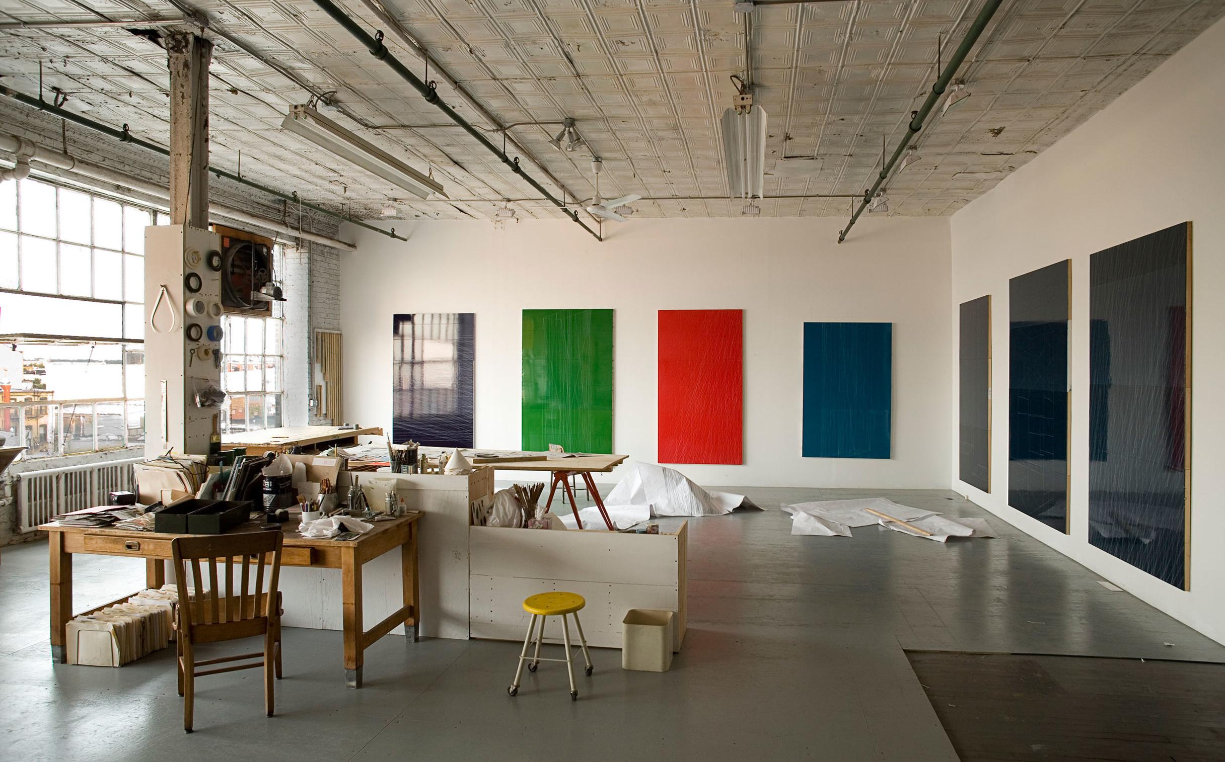 Studio view, New York, New York