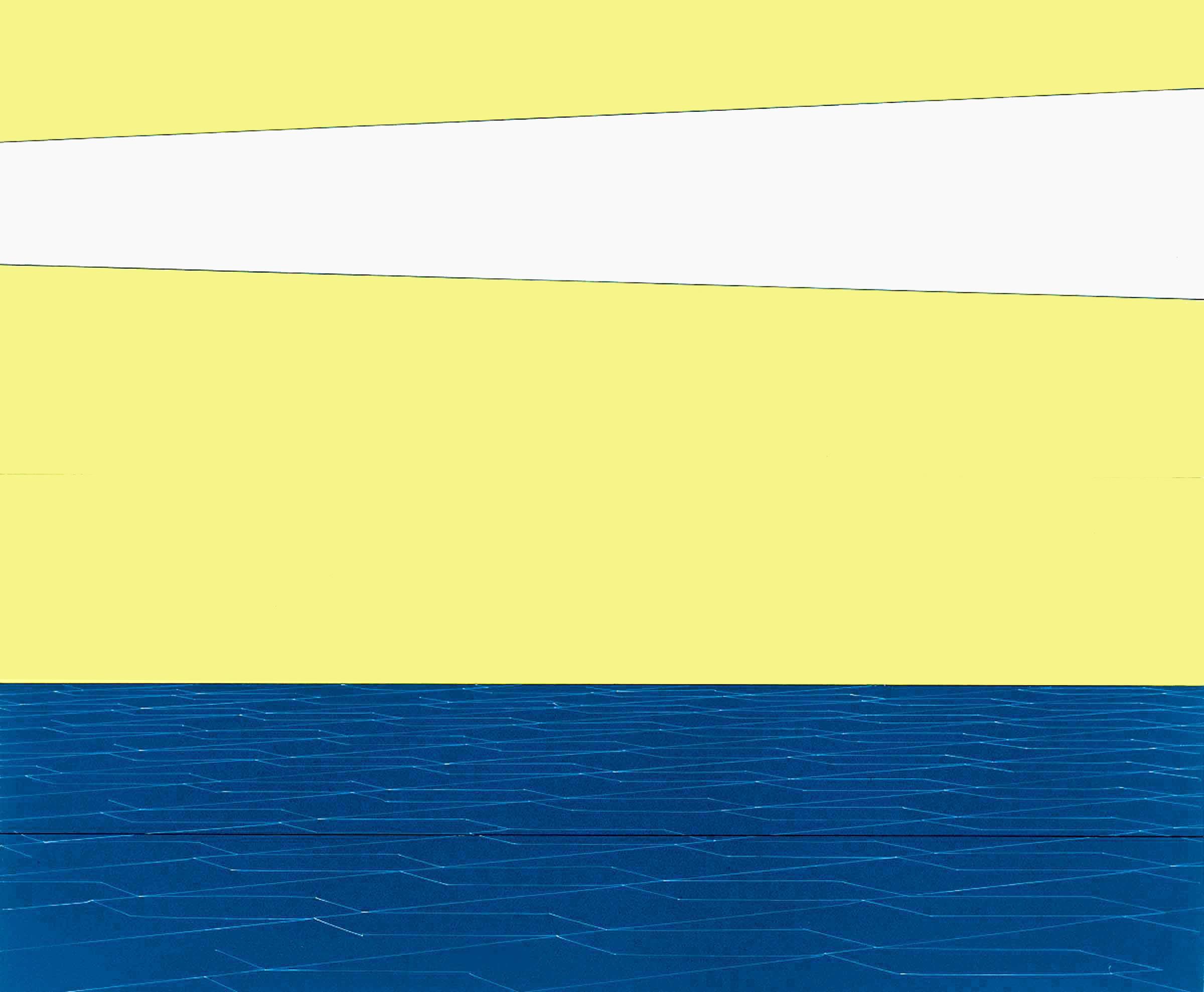 High waisted Cartoon Sky, Yellow Sky