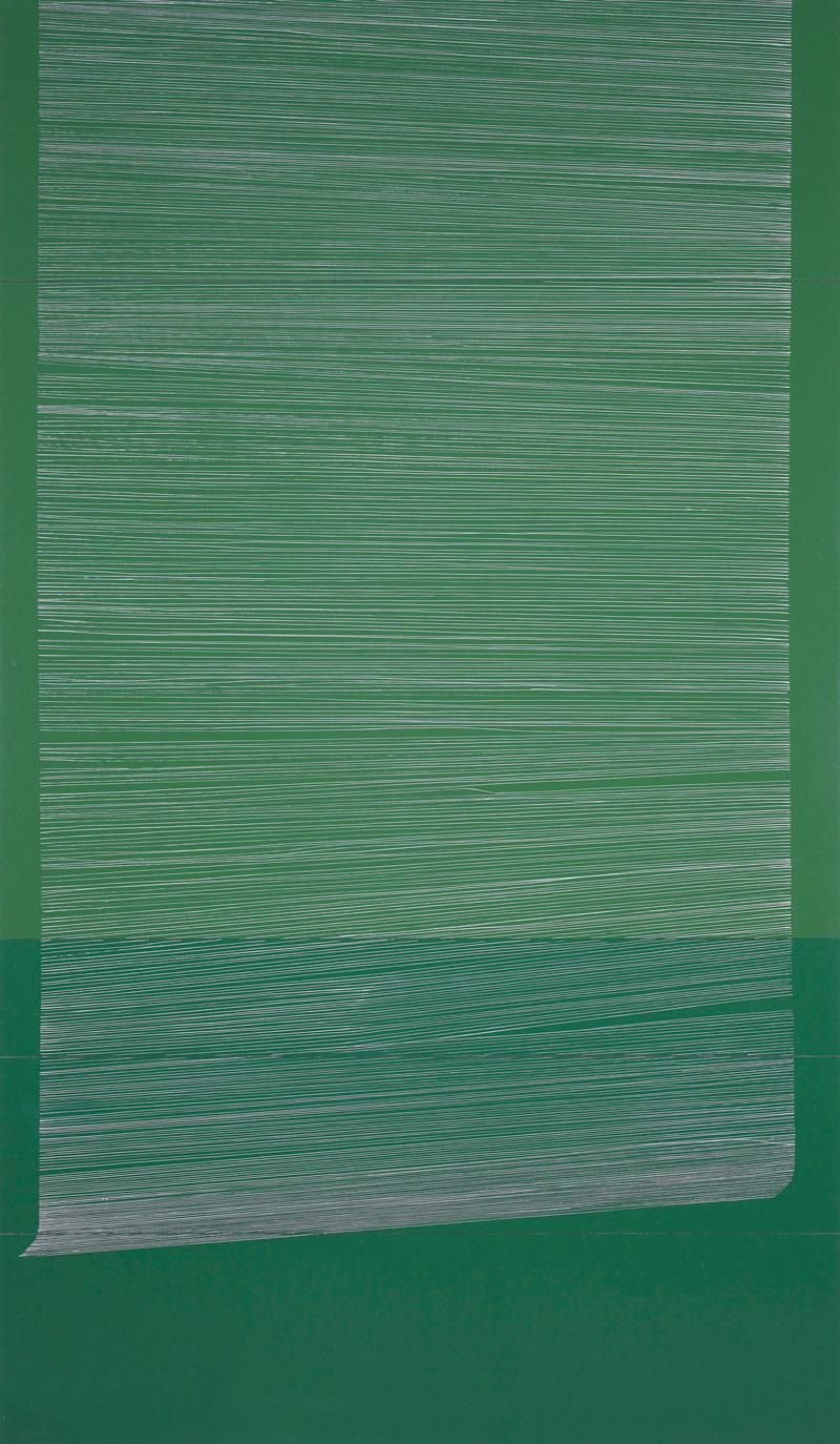 Blind, Leaf Green