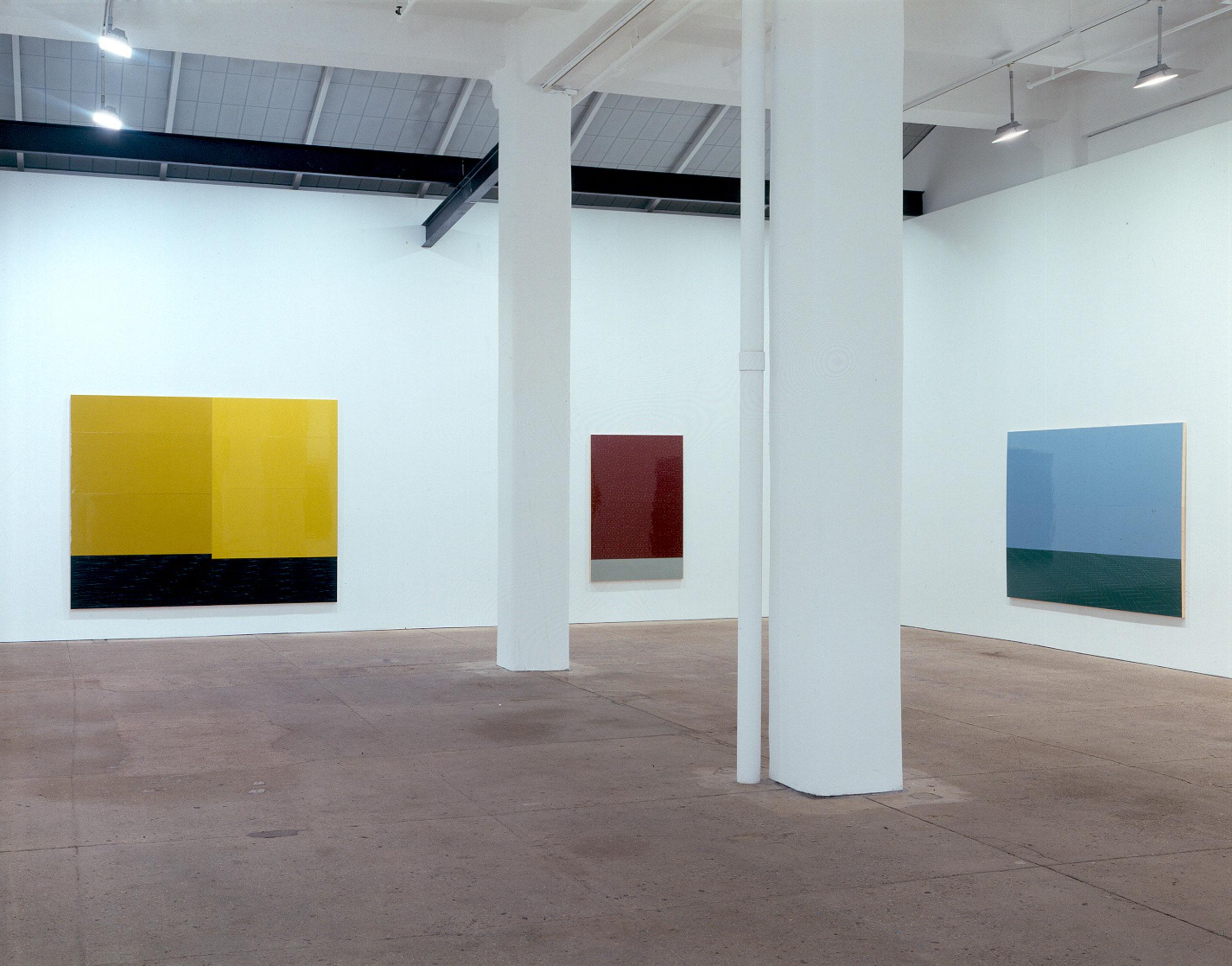 "Installation view,""Wall, Floor, Rocky Crag"", Galerie Lelong, New York, New York"