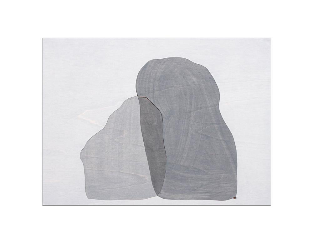 Hugging Stones 1,3,2 Grey