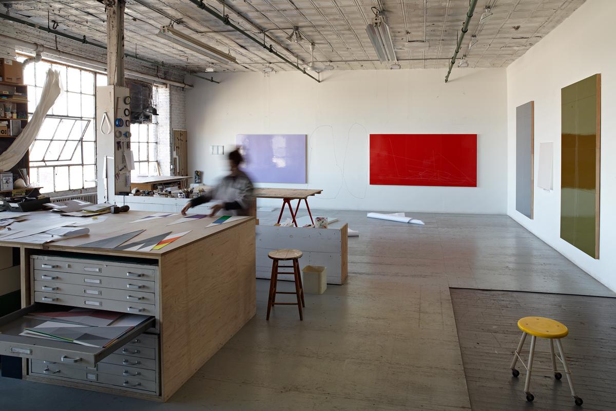 Studio View, New York